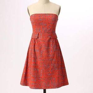 Tabitha crosshatch dress